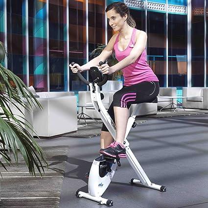 ION fitness TRON FI012 bicicleta estática plegable. sistema ...