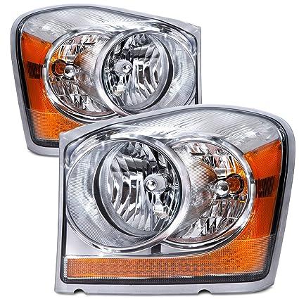 Amazon Com Headlights Depot Replacement For Dodge Durango
