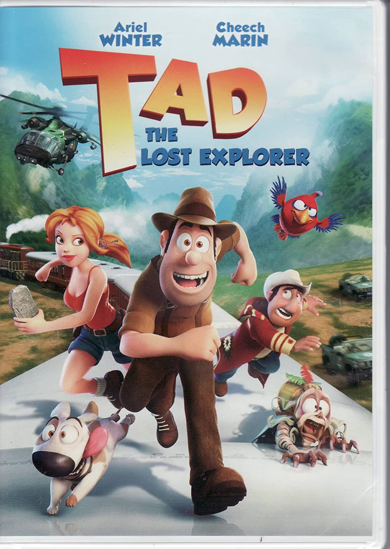 Amazon Com Tad The Lost Explorer Dvd Ariel Winter Cheech Marin Movies Tv