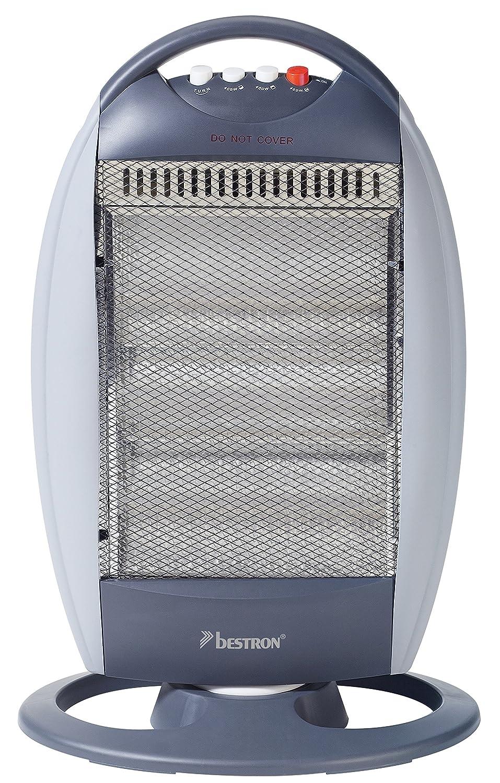 Bestron Ahh1200 Calefactores Y Radiadores, 400.0 W, Gris/Acero Inoxidable: Amazon.es: Hogar