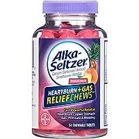 54-Count Alka-Seltzer Heartburn + Gas Relief Chews, Tropical Punch