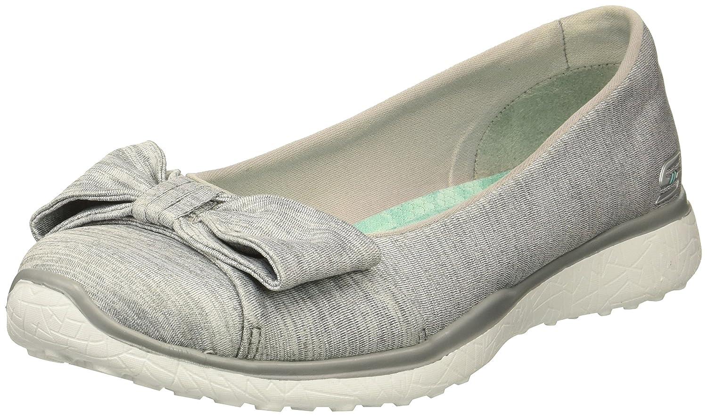 Skechers Women's Microburst-Be-You-Tiful Sneaker B078YRWZPW 8.5 B(M) US|Grey
