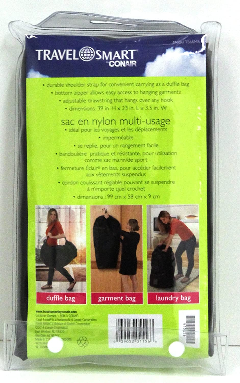ee8c5f9e8d63 Amazon.com: Travel Smart By Conair Multipurpose 3 in 1 Bag-duffle ...