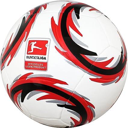 Trade Con DFL Bundesliga Balón de fútbol, color blanco/rojo ...