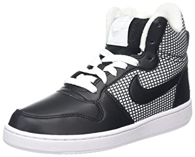 ad900f988f3fb4 Nike Damen Court Borough Mid SE Hohe Sneaker Weiß (White Black) 37.5 EU