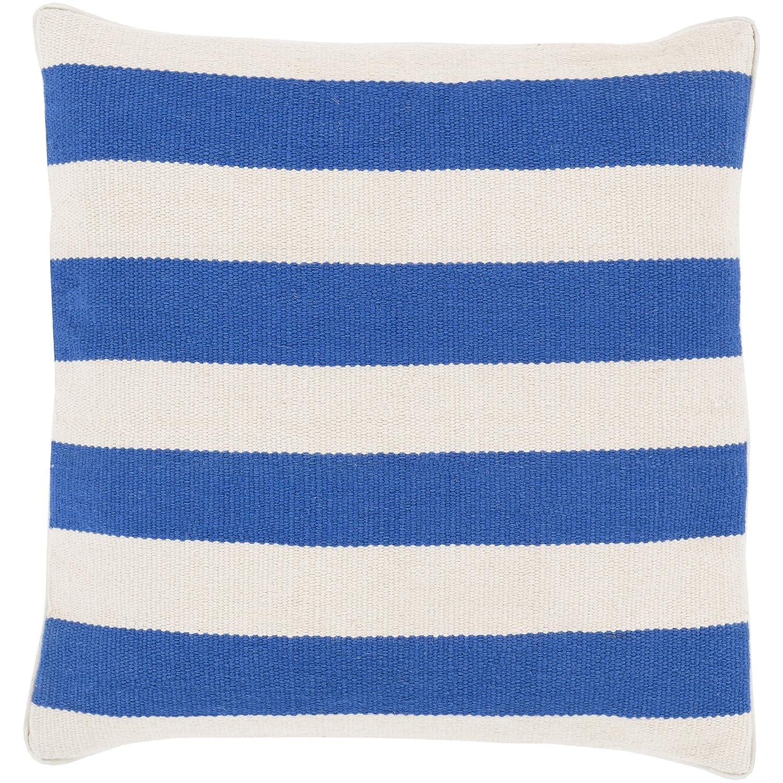 Surya Rug BD001-1818P Square Beige Decorative Poly Fiber Pillow 18 x 18 in.   B00H2KDK62