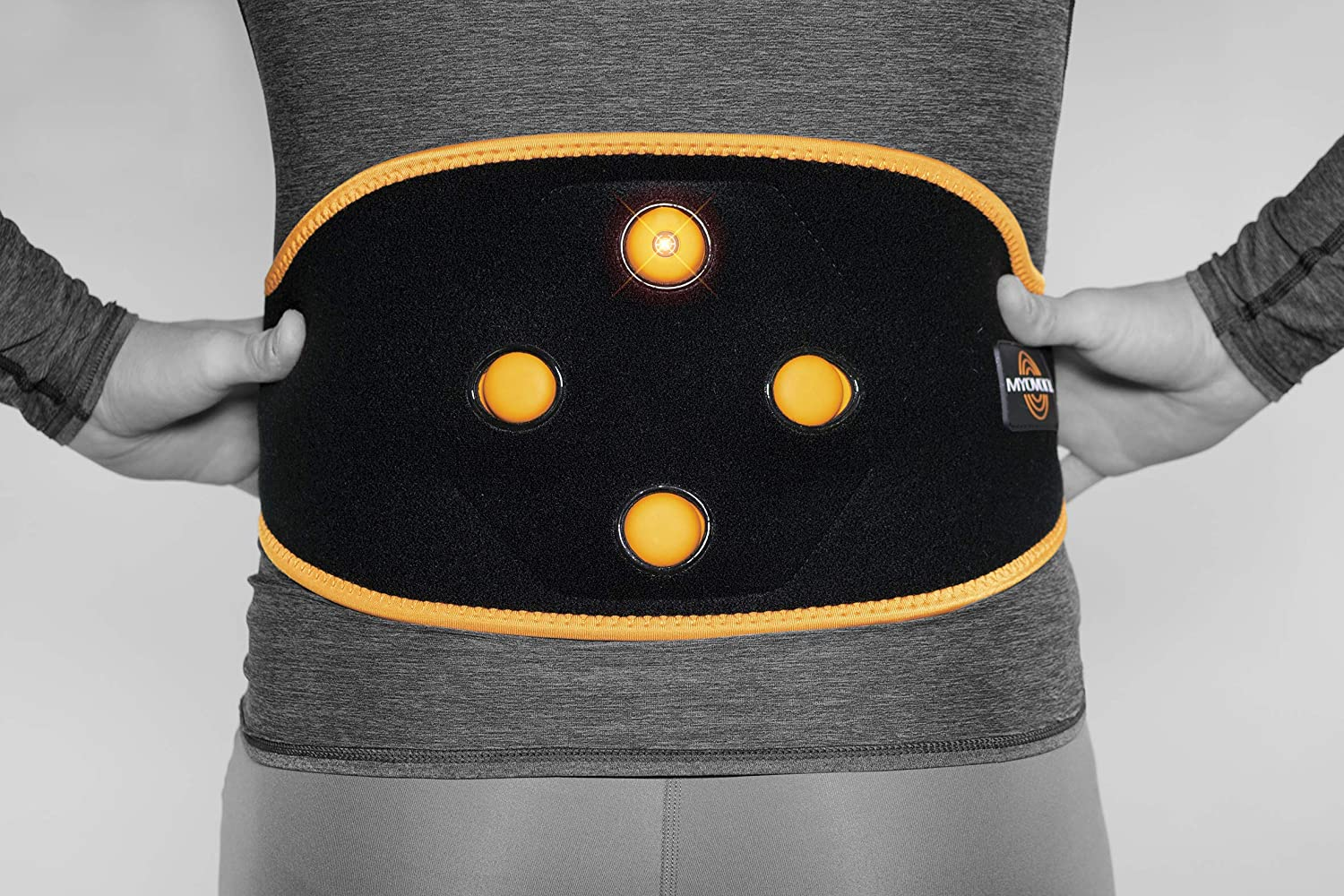 Myovolt Wearable Massage Technology for Back CORE Vibration Therapy Device Warm up, Loosen, and Relax Sore Stiff Muscles Back Pain Relief