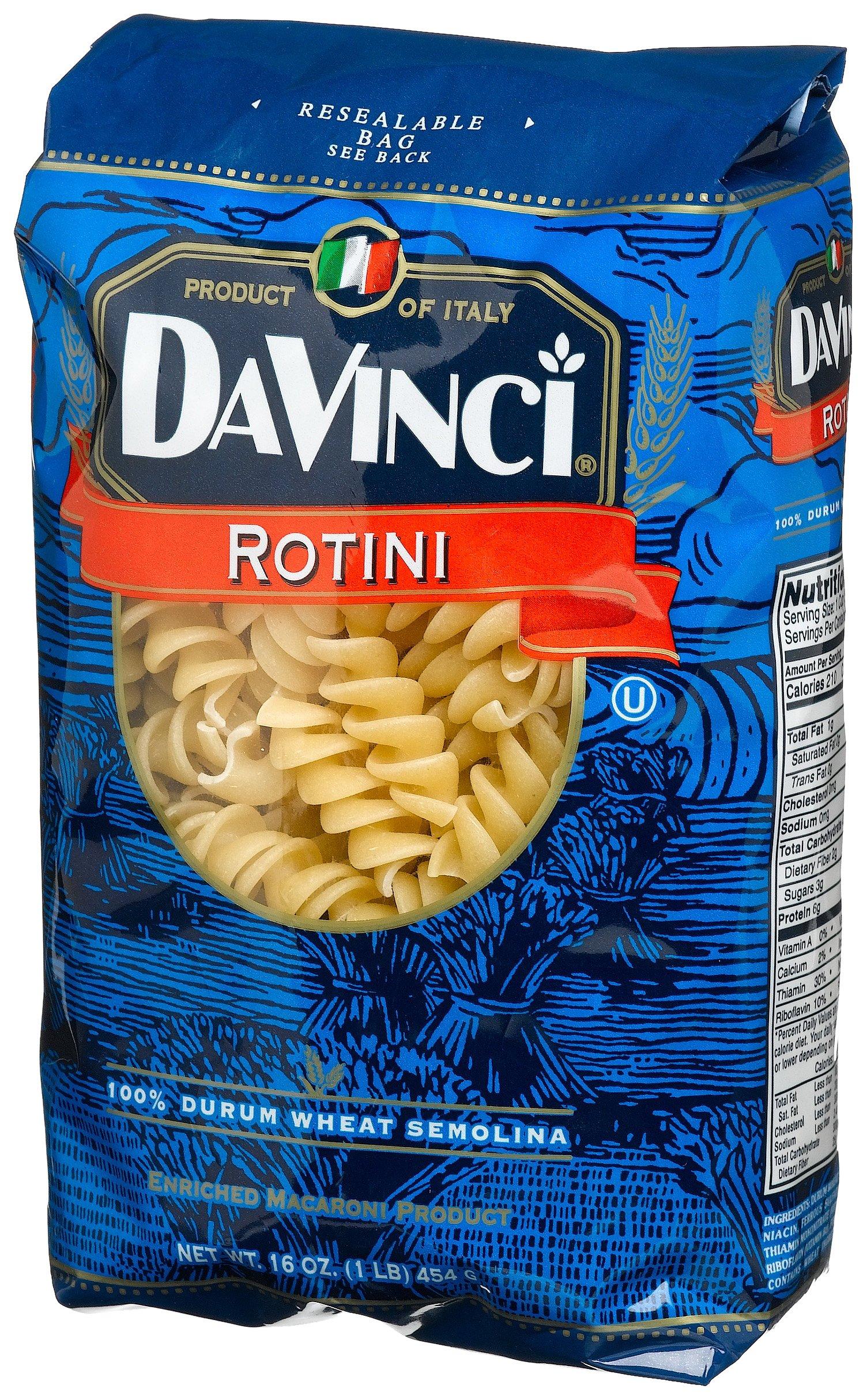 DaVinci Rotini, 16-ounces (Pack of12)