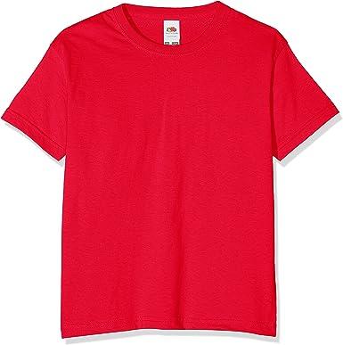 FOTL New Children T Shirt Cotton Short Sleeve Crew Neck Valueweight Kids T Shirt