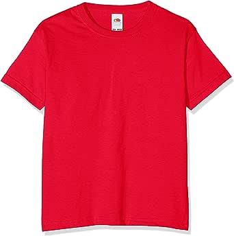 Fruit of the Loom Value T, Camiseta Niño