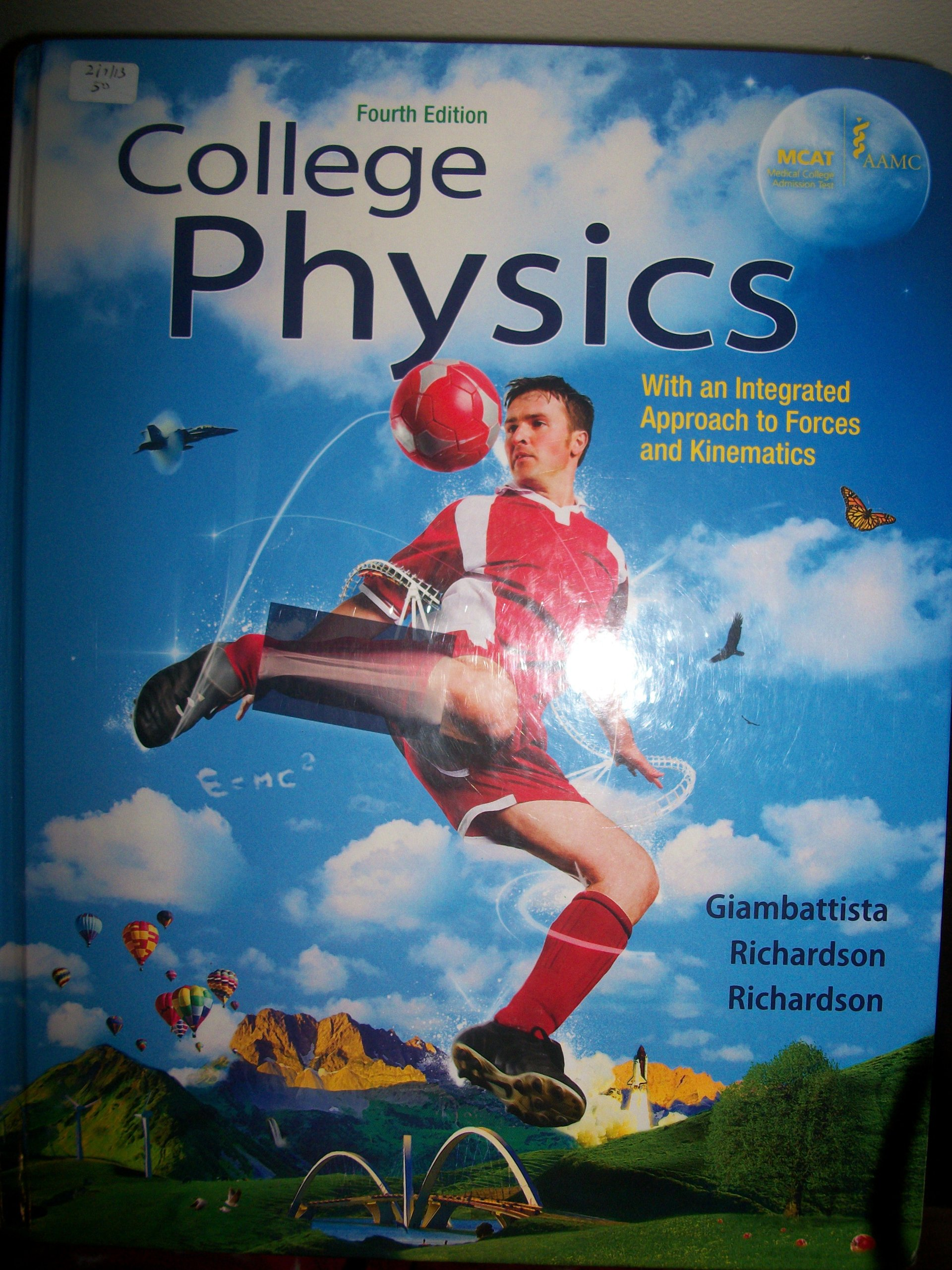 College Physics:With an Integrated Approach to Forces and Kinematics,  Fourth Edition: Richardson, Richardson Giambattista: 9780073512143:  Amazon.com: Books