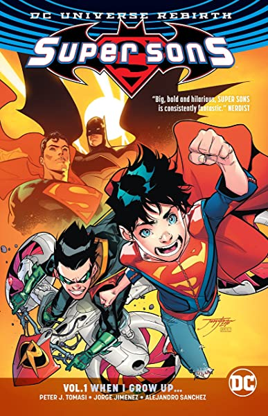 Super Sons Vol  1 (Rebirth): Peter J  Tomasi: Amazon com au