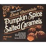 Trader Joe's Dark Chocolate Pumpkin Spice Salted Caramels - 6.2oz Box