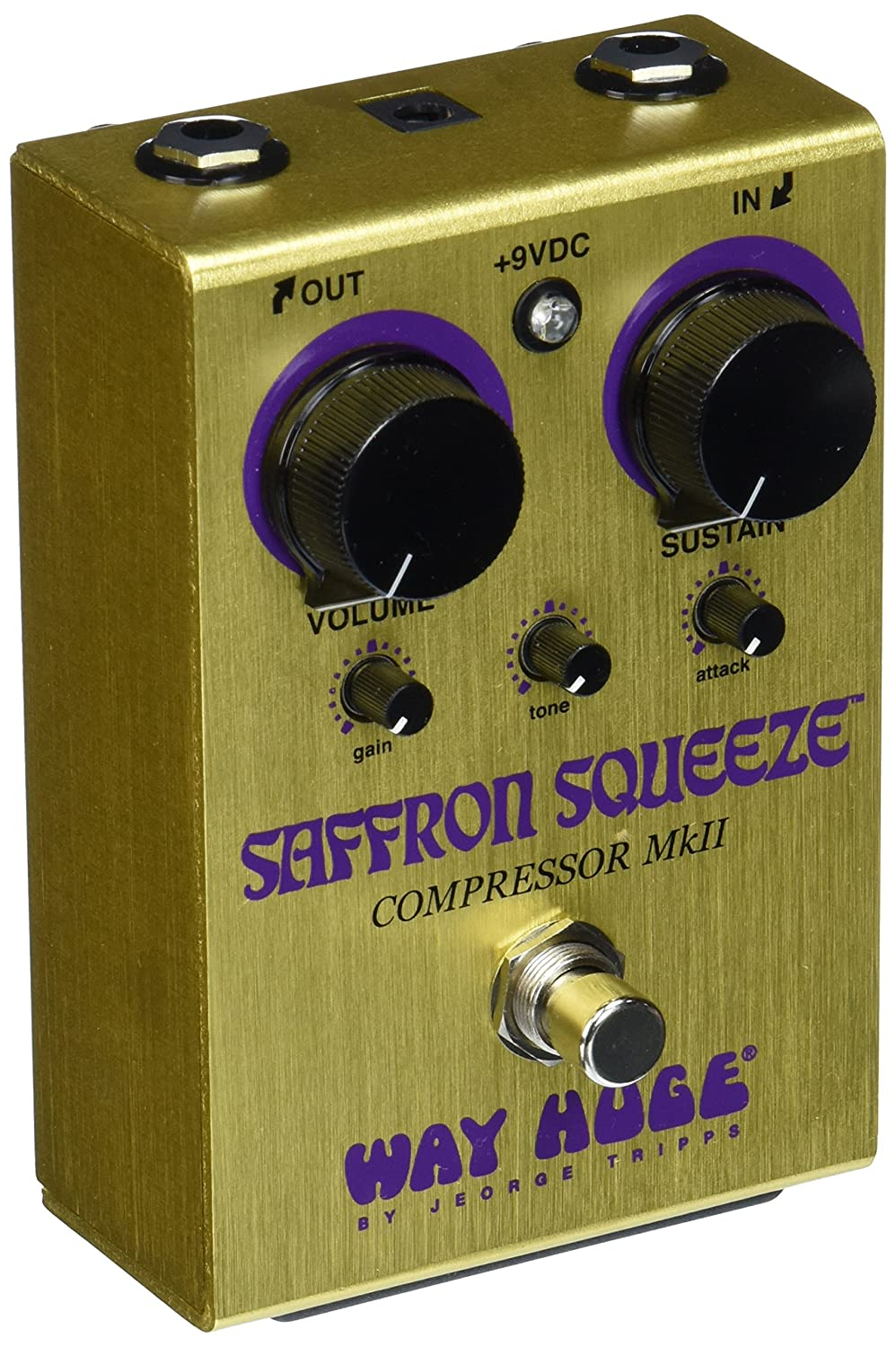 Way Huge WHE103 Saffron Squeeze™ Compressor Jim Dunlop 11210300001