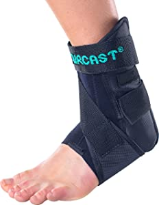 Aircast AirSport Ankle Support Brace, Left Foot, Small