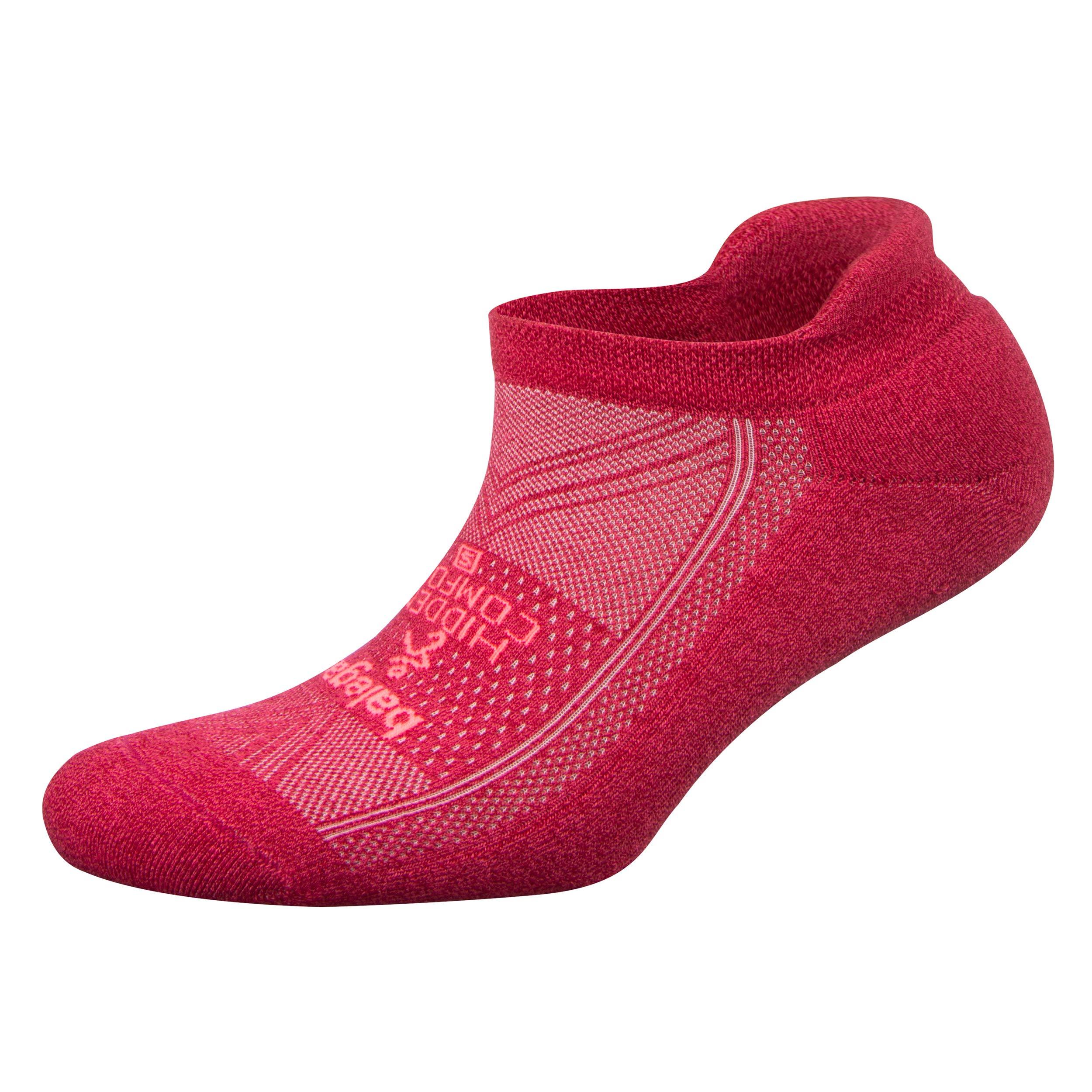 Balega Hidden Comfort No-Show Running Socks for Men and Women (1 Pair), Cupid, Medium