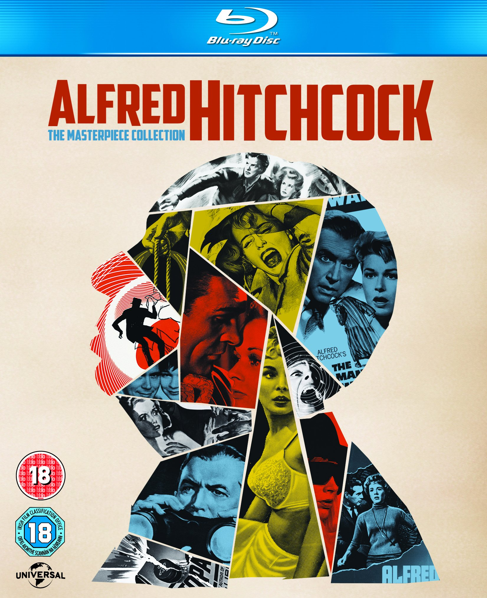 Alfred Hitchcock: The Masterpiece Collection [Blu Ray] by Universal Studios