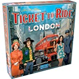 Ticket to Ride London Board Game   Family Board Game   Board Game for Adults and Family   Bus Game   Ages 8+   For 2 to 4 pla