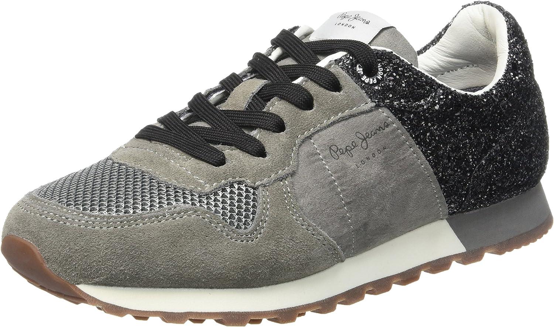 Pepe Jeans London Verona W Break G, Zapatillas para Mujer, Gris (Middle Grey), 41 EU: Amazon.es: Zapatos y complementos