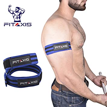 FITAXIS Bandas de oclusion | Occlusion Bands Optimizado para Entrenamiento de restriccion del Flujo sanguineo Crecimiento