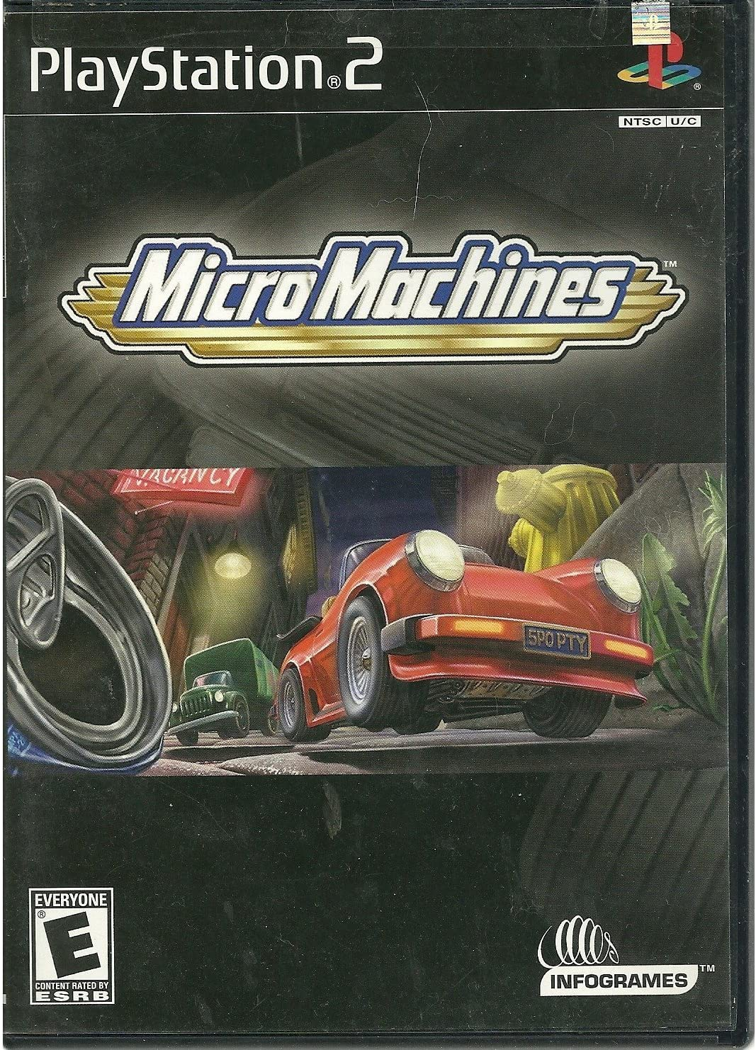 Amazon com: Micro Machines PS2: Video Games