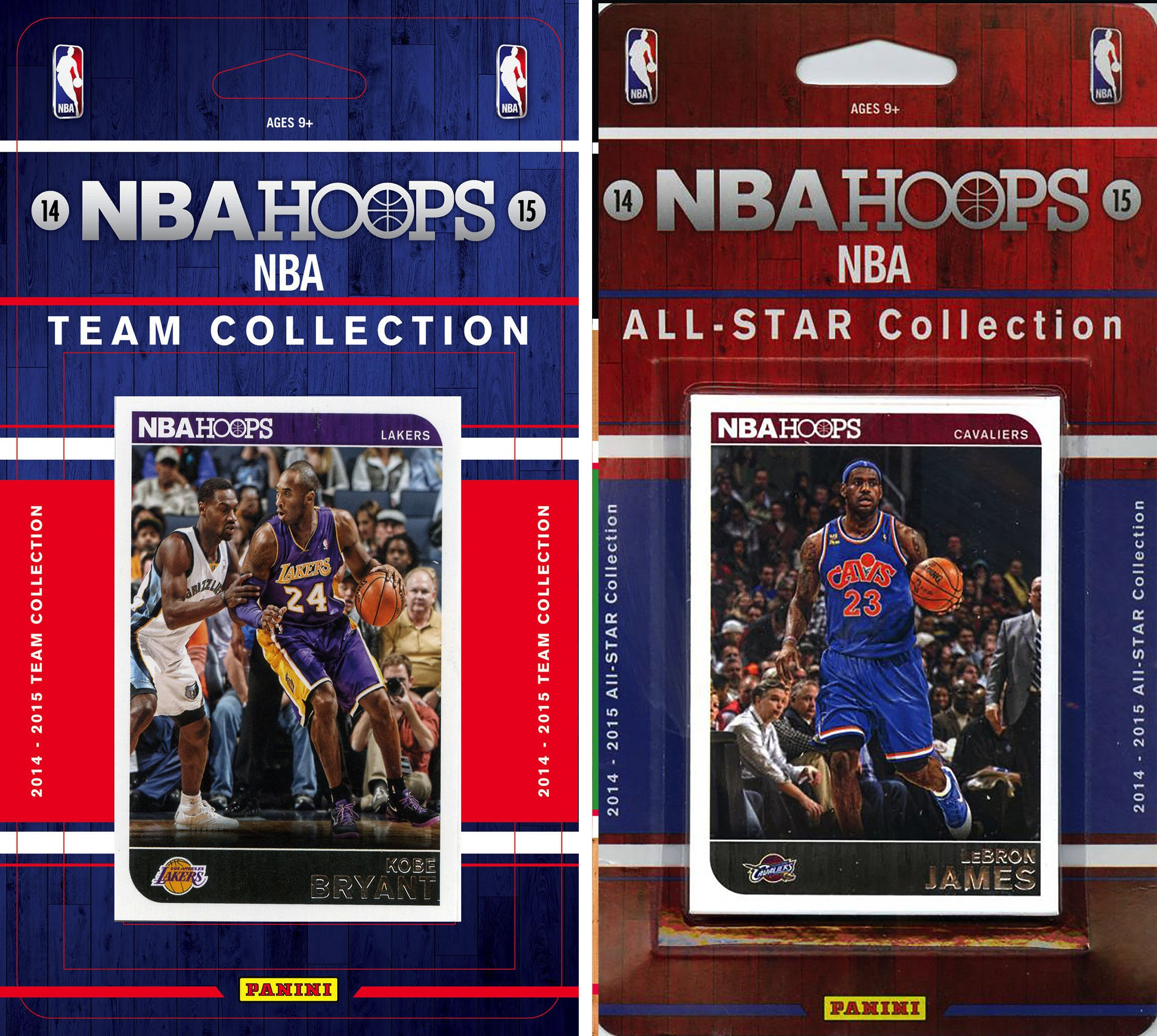 NBA Los Angeles Lakers Licensed 2014-15 Hoops Team Plus All-Star Set, Brown, One Size