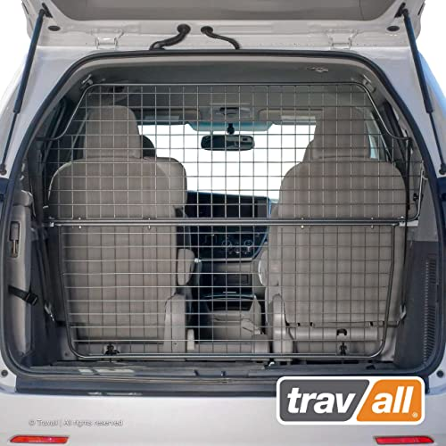 Travall Guard Plus Compatible with Toyota Sienna 2010-Current TDG1577 – Rattle-Free Full Height Steel Vehicle Specific Pet Barrier