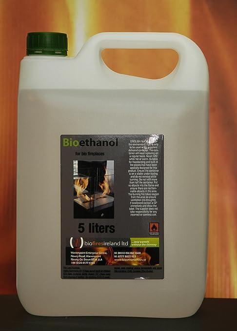 Biofiresireland Ltd - Bioetanol, 25 l, inodoro