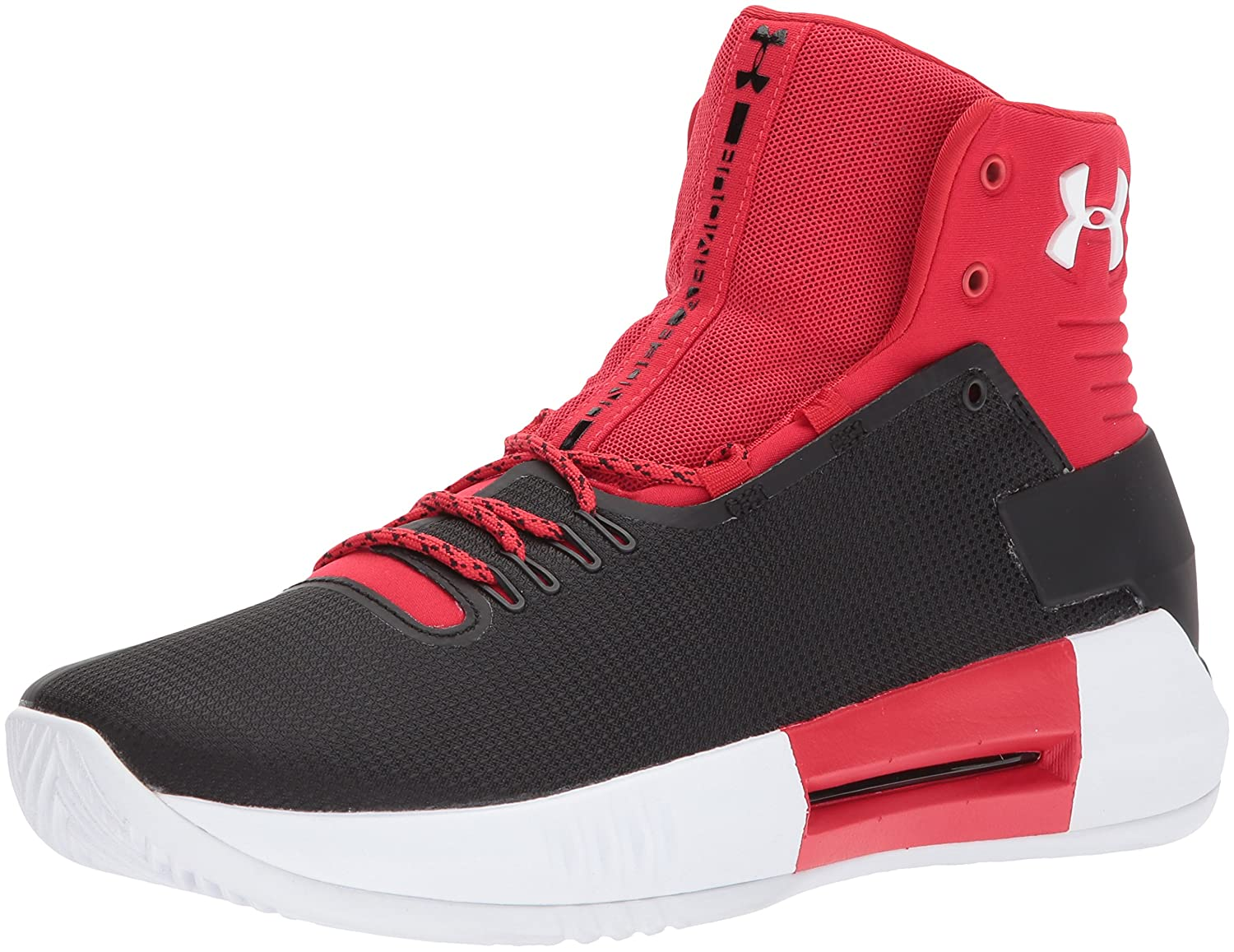 Under Armour Men's Team Drive 4 Basketball Shoe B01MYZKJ3Z 14 M US|Red (600)/Black