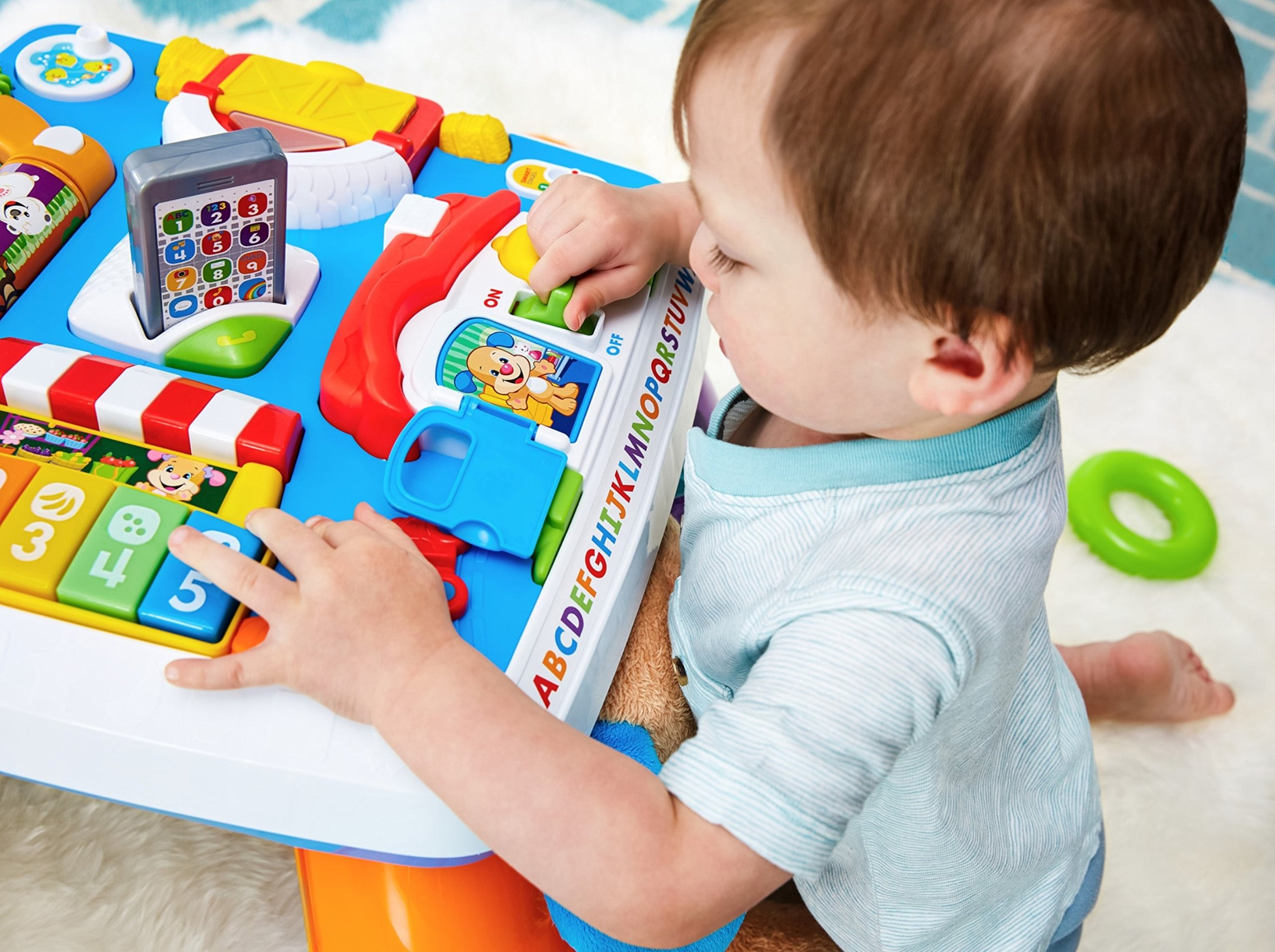 Fisher-Price Laugh & Learn Around The Town Learning Table by Fisher-Price (Image #20)