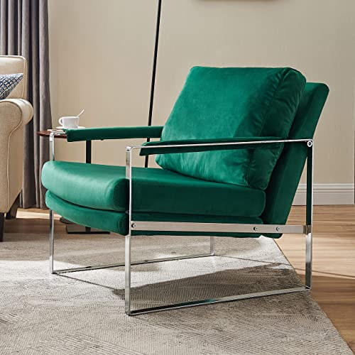 Volans Modern Velvet Accent Chair