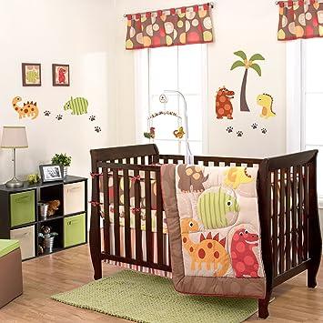 Amazon.com: 3 piezas dinosaurio bebé Juego de ropa de cama ...