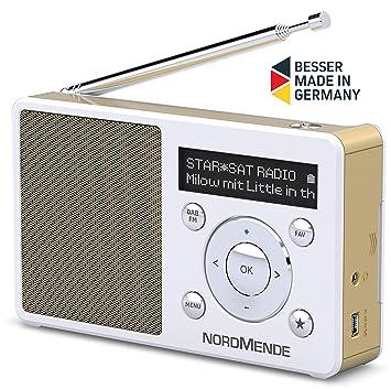 Hedendaags Nordmende Transita 100 Empfangsstarkes Radio (DAB+, UKW, FM GQ-59