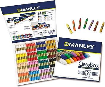 Manley 75/Set of 12/Wax Crayons