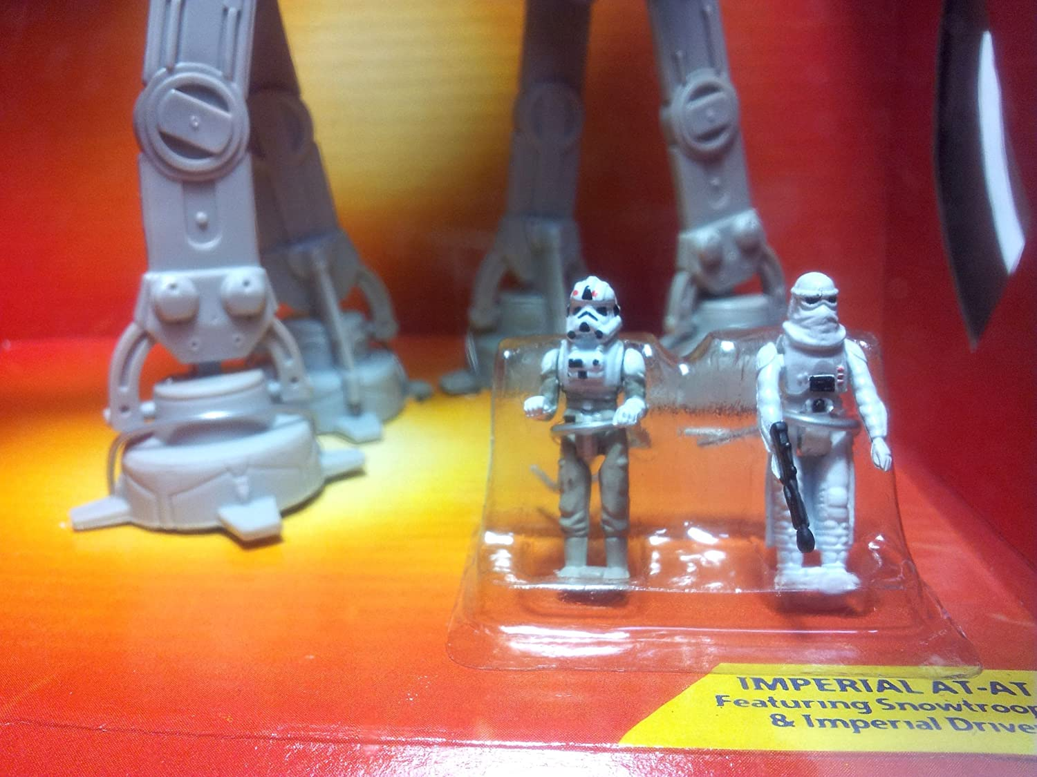 Micro Machines Star Wars Action Fleet Imperial AT-AT Galoob