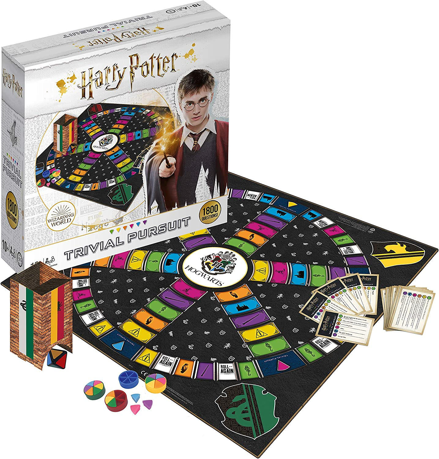 Winning Moves- Harry Potter Ultimate Trivial Pursuit, Color (033343), Inglés: Amazon.es: Juguetes y juegos