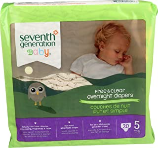 product image for Seventh Generation Overnight Diapers - Size 5-20 ct