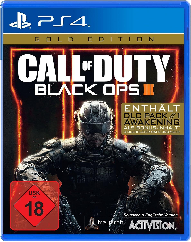 Call of Duty: Black Ops III Gold Edition PS4 [Importación alemana ...