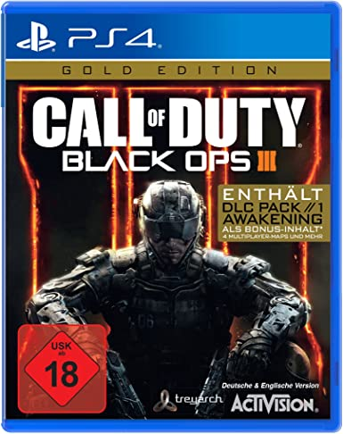 Call of Duty: Black Ops III Gold Edition PS4 [Importación alemana ...
