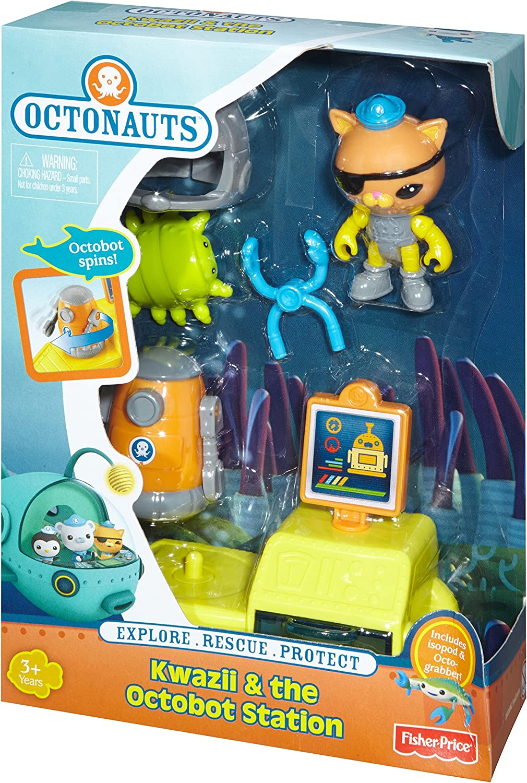 Fisher-Price Octonauts azione figura Rescue Kit figura e gli accessori giocattoli gioco