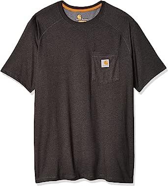 Carhartt Men's Force Cotton Delmont Short Sleeve T-Shirt