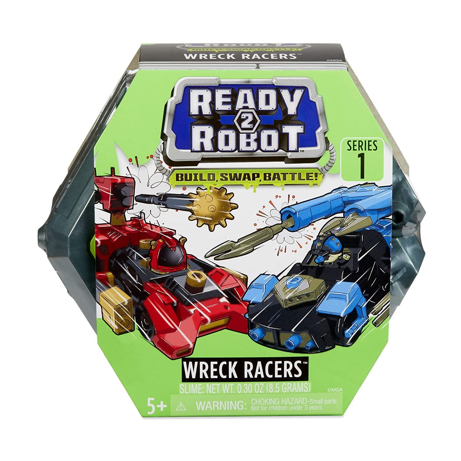 Ready2Robot Wreck Racers Robot Vehicles with Slime MGA Entertainment 557203