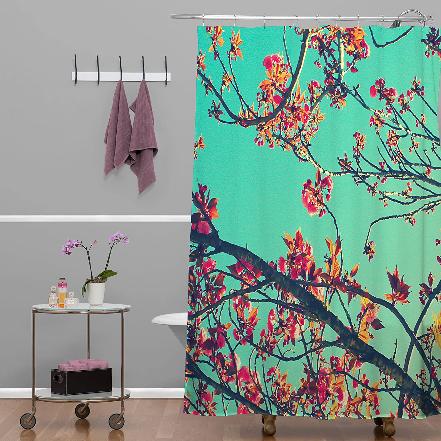 Brown Black Red sc/_38291/_long 75 Inches Long Fabric Bathroom Decor Set with Hooks Wine Themed Collage on Wooden Backdrop with Grapes and Meat Rustic Country Drink Ambesonne Wine Shower Curtain