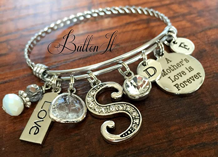 Mom Bracelet Gifts For BANGLE New Gift First Mothers Day Mother Daughter Jewelry Birthday Baby Shower