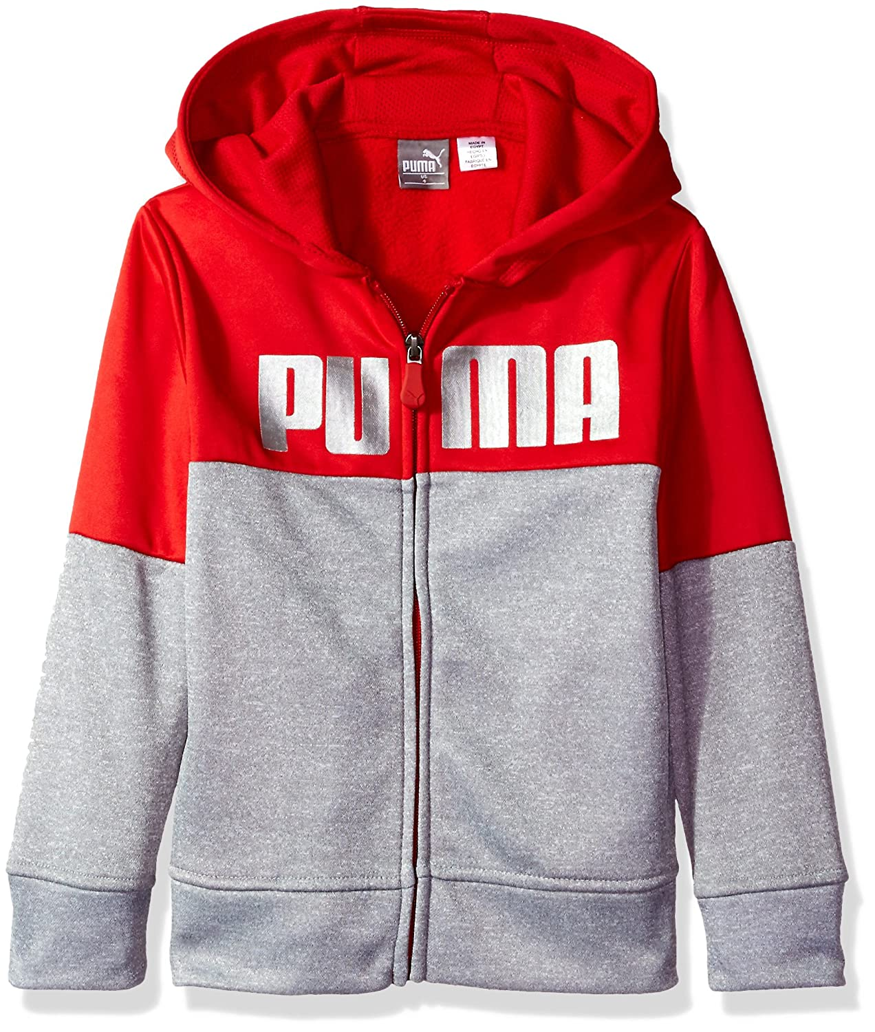 PUMA Boys Little Boys Boys' Tech Fleece Zip Hoodie