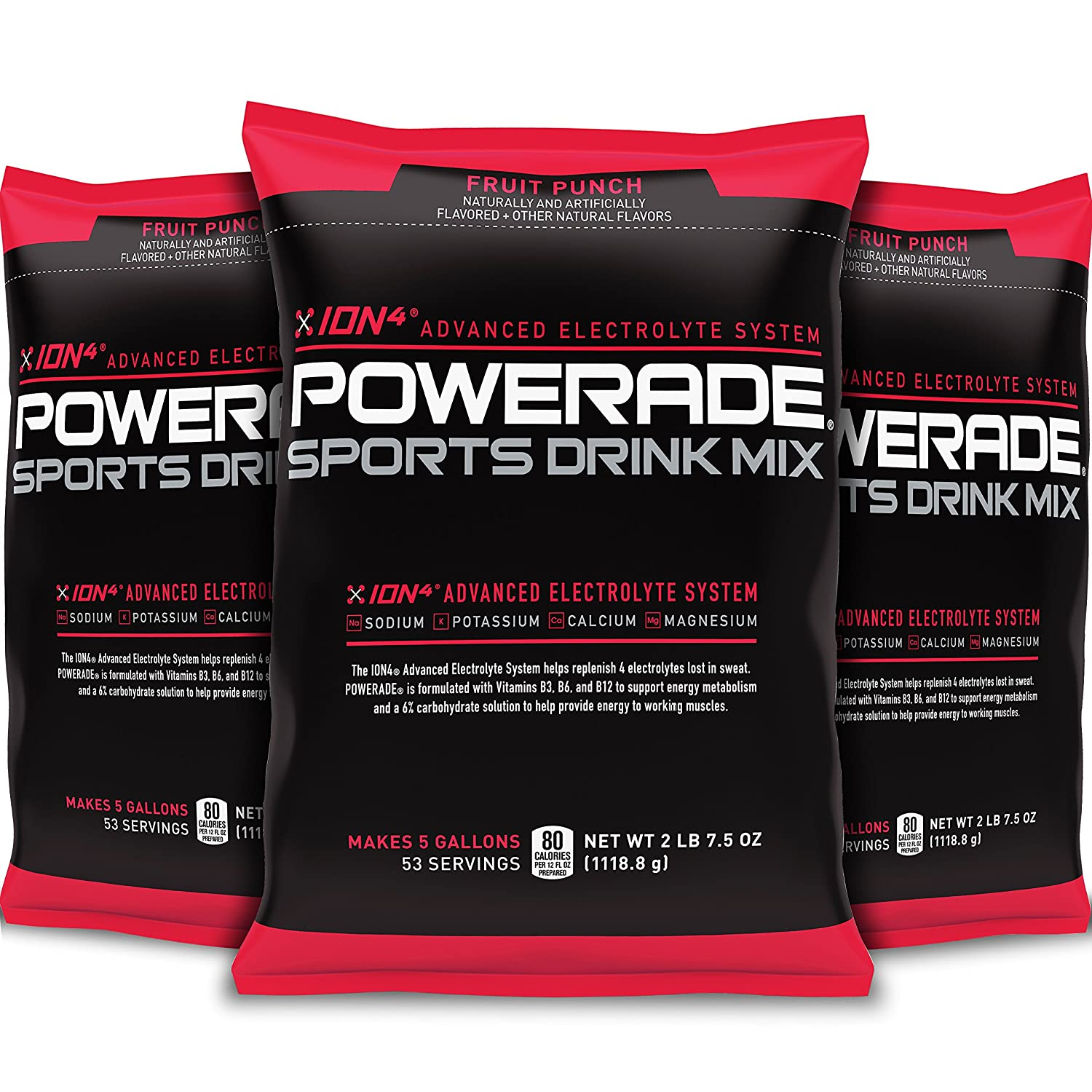 Amazon.com : POWERADE Mountain Berry Blast Powder, 2.7 Pound (Pack of 3) : Grocery & Gourmet Food