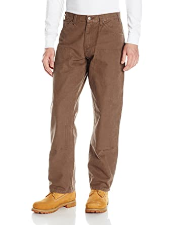 6784f7e9d81fc3 Amazon.com: Dickies Men's Double Front Duck Pant: Clothing