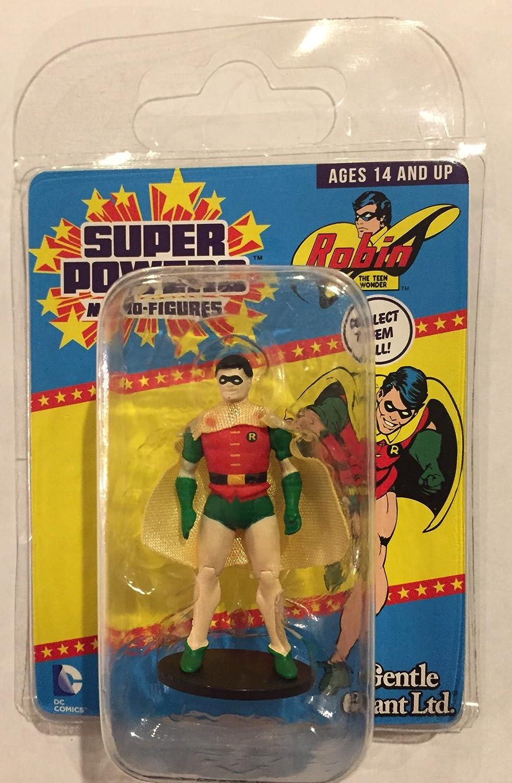 Super Powers Micro Figures Gentle Giant DC Comics Batman Robin Flash Joker Lex
