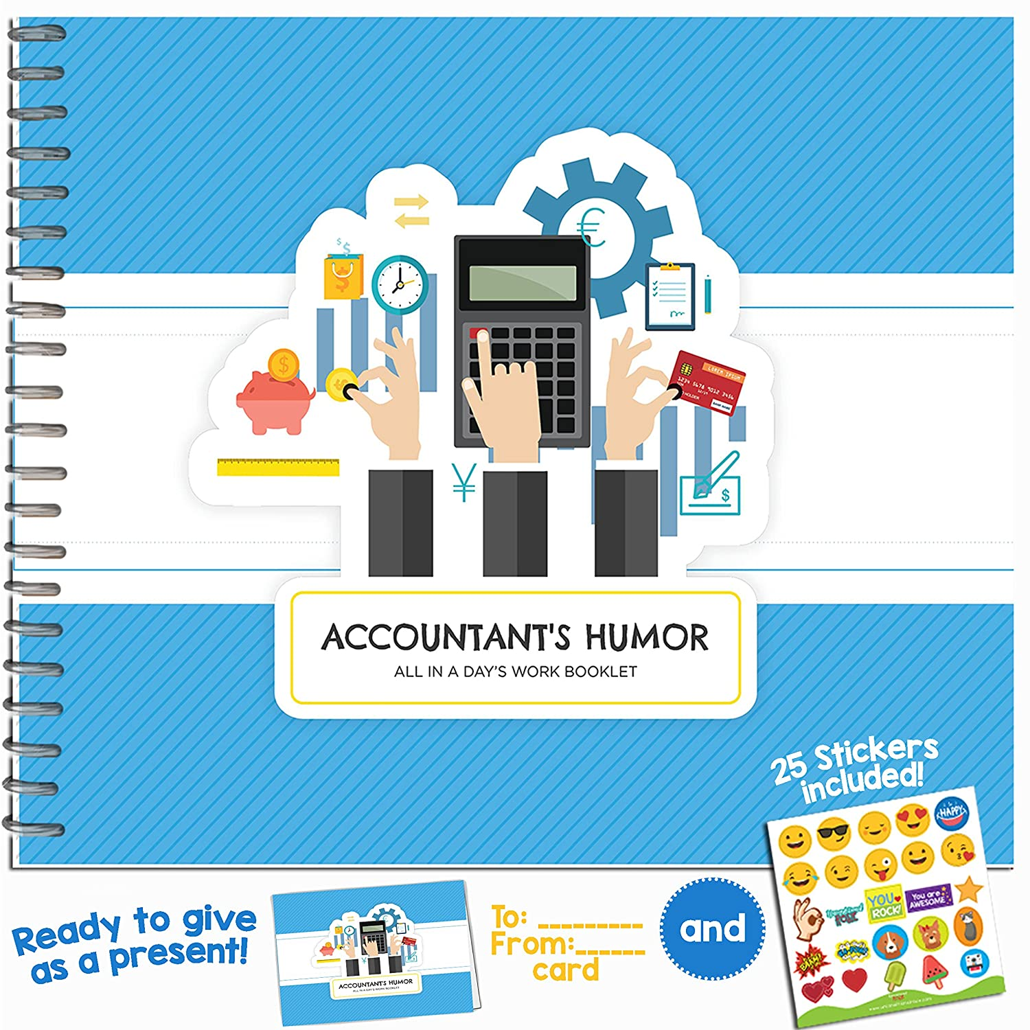 """Accountant's Humor"" Book - For Your Favorite Auditor, Bookkeeper or CPA"