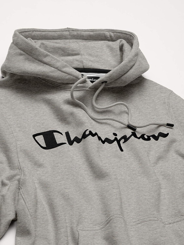 Champion LIFE Men's Champion Super Fleece 2.0 Pullover Hood-Furry C: Clothing
